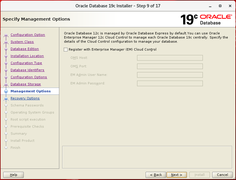 Oracle Database 19c on Linux 7 6 Step by Step Installation