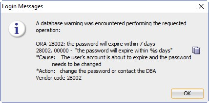 How to Change Expired Oracle User Profile Password Lifetime to the