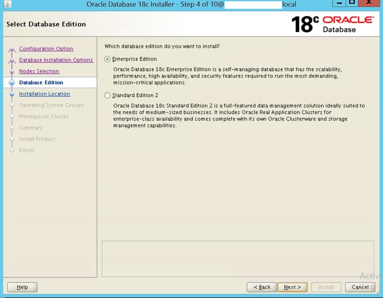Oracle Real Application Cluster (RAC) Database 18c Step by