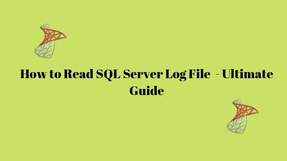 read SQL Log file