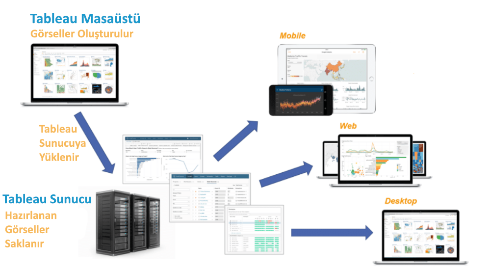 Tableau Server and Desktop