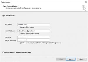 Select-E-mail-Account
