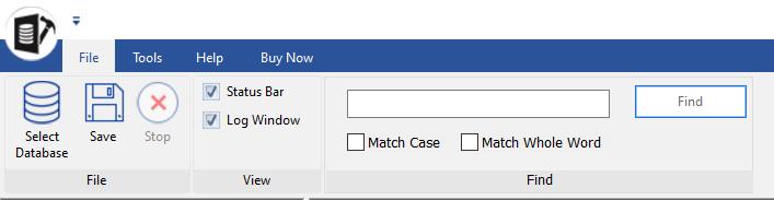 Save database